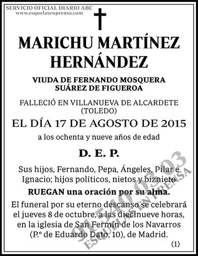 Marichu Martínez Hernández